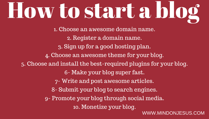 How to start a blog and be successful. WordPress Secrets revealed.