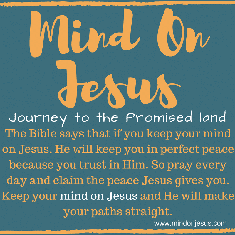Mind on Jesus Christian blog, featuring faith-filled Christian articles.